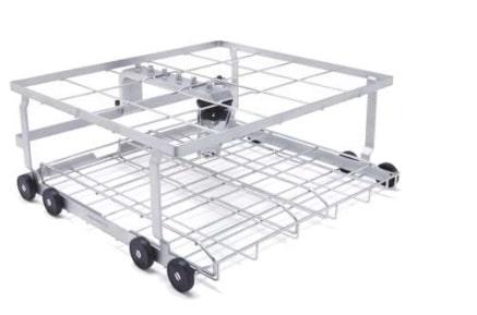 Wózek na narzędzia chirurgiczne proste (4 tace DIN) A202