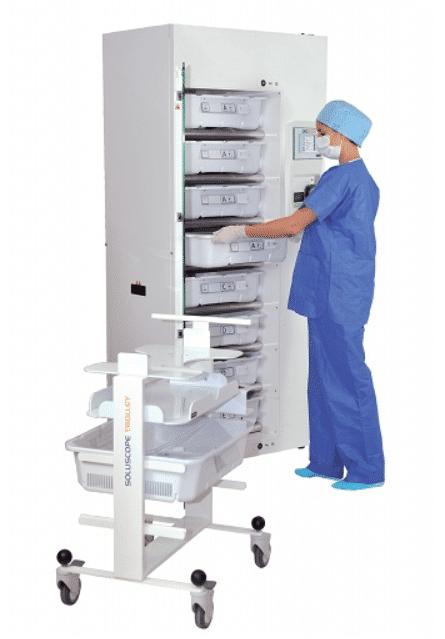 Wózek do transportu i przechowywania endoskopów - max_2