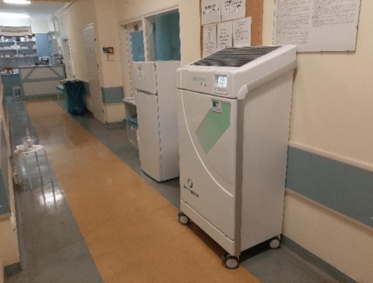 Szpital covidowy w Augustowie - technologia w służbie bezpieczenstwa.